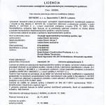Licencia na zhotovovanie vonkajších tepelnoizolačných kontaktných systémov