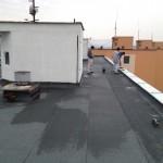 Zateplenie strechy bytového domu panelmi z polyuretanovej peny