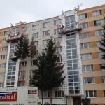 Zateplenie bytového domu systémom weber.therm terranova