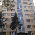 Výmena presklenia schodišťa bytového domu