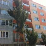Oprava lódžií bytového domu systémom weber