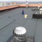 Zateplenie strechy bytového domu systémom GEDACO-Randa polyuretanovou penou